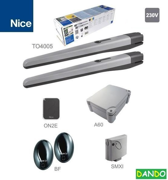 TOONA4005 - Z, 2x TO4005-230V,340W,1800N, 1x A60,1xSMXI 1x ON2E,1x BF