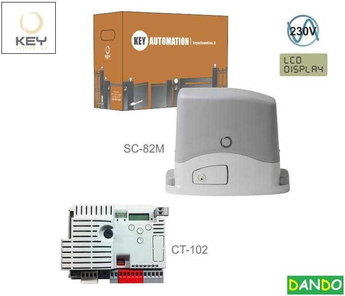 KEY SC-82M do 800 kg s elektronikou CT-102,