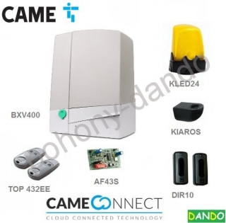 CAME BXV4 KIT -  1x CAME BXV4, 2x TOP-432-EE, 1x DIR-10, 1x  AF-43S,