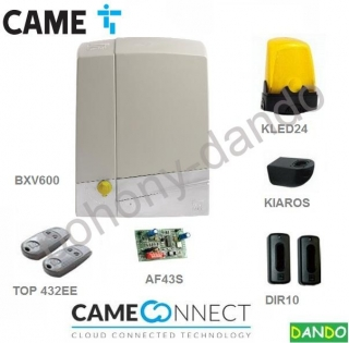 CAME BXV6 KIT -  1x CAME BXV4, 2x TOP-432-EE, 1x DIR-10, 1x  AF-43S,